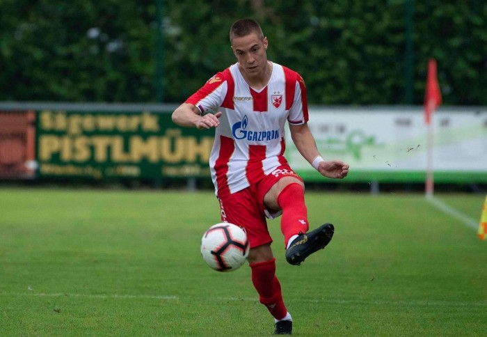 Our left back Marko Konatar is promoted for the first team of Red Star Belgrade!