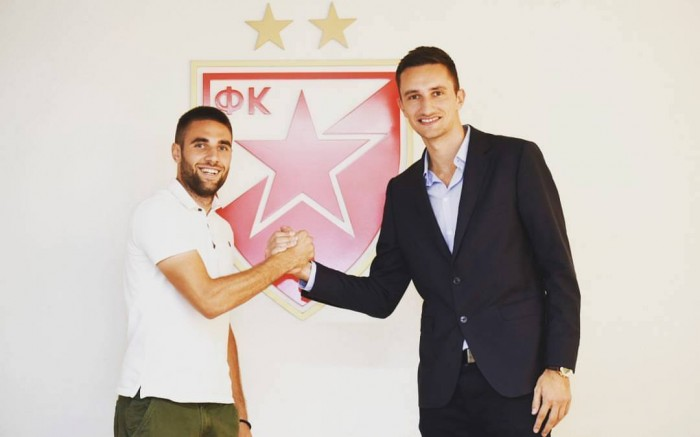 Filip Bainovic signs for Red Star
