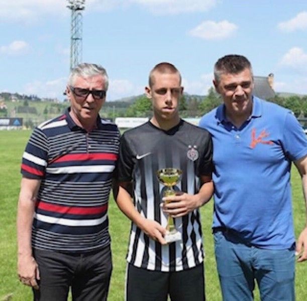 "Savo Arambašić is the 1st Goalscorer of the ""Friendship Tournament""!"
